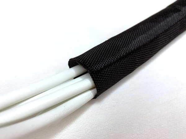 Wrap braided sleeve