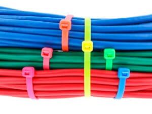 Fluorescerende kabelstrip